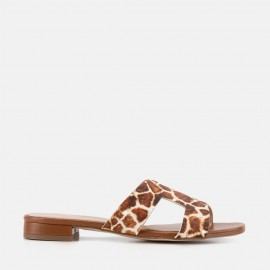 ÁFRICA - ANIMAL PRINT CAMEL